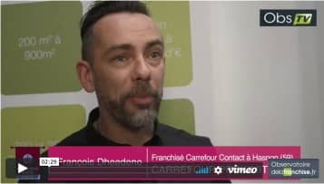 Interview de François Dheedene, franchisé Carrefour Contact à Hasnon