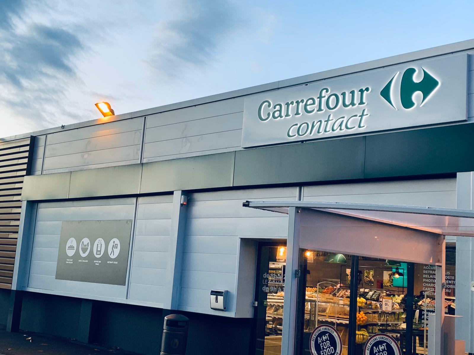 Découvrez New Contact, les nouveaux magasins Carrefour Contact !