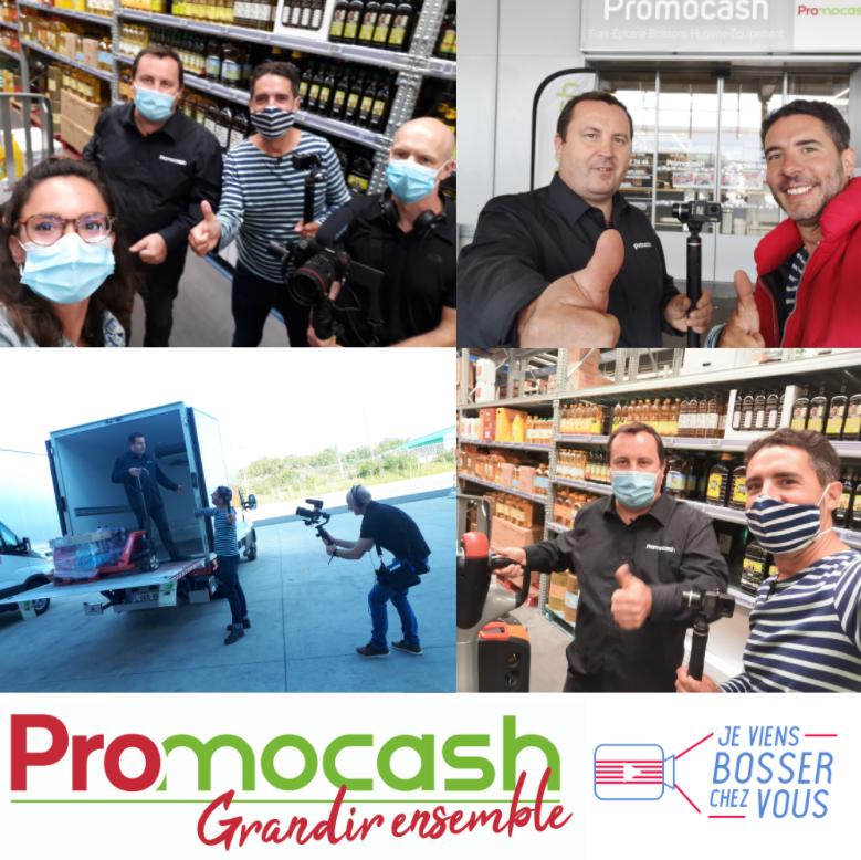 Découvrez le quotidien d'un franchisé Promocash