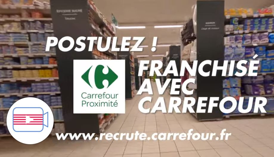 Découvrez le quotidien de Séverine, franchisée Carrefour