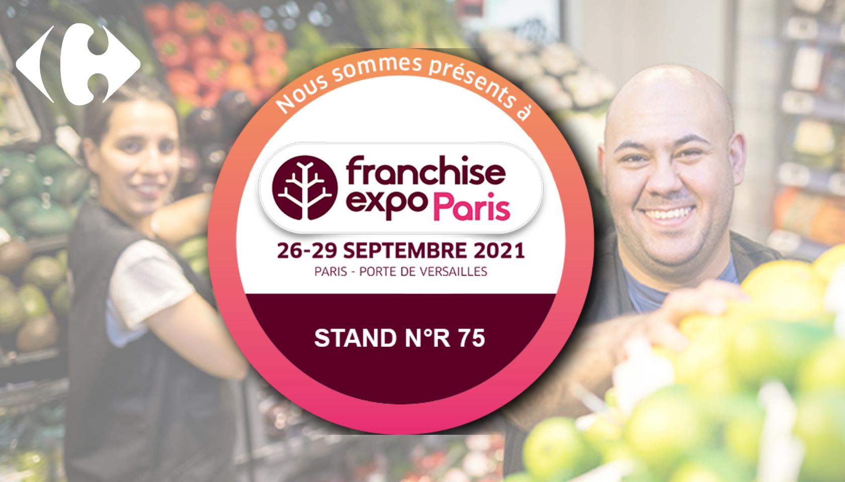 Salon de la Franchise du 26 au 29 septembre, venez nous rencontrer et discutons de votre projet !